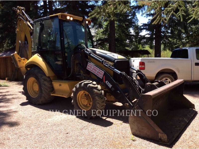 CATERPILLAR BACKHOE LOADERS 420E IT4WE equipment  photo 1