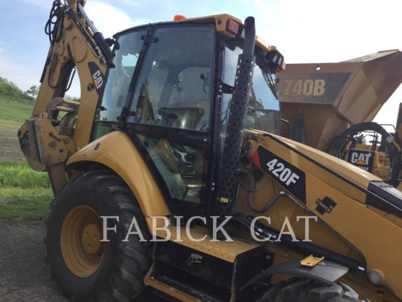 CATERPILLAR BACKHOE LOADERS 420F HT equipment  photo 3