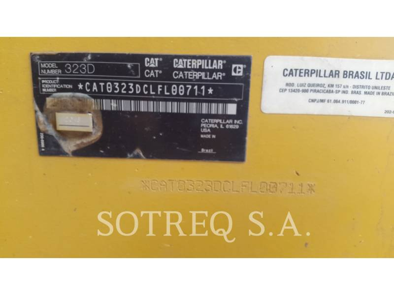 CATERPILLAR ESCAVADEIRAS 323DL equipment  photo 2