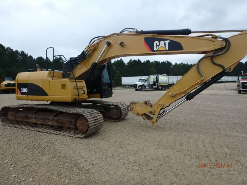CATERPILLAR TRACK EXCAVATORS 320DLRR equipment  photo 4