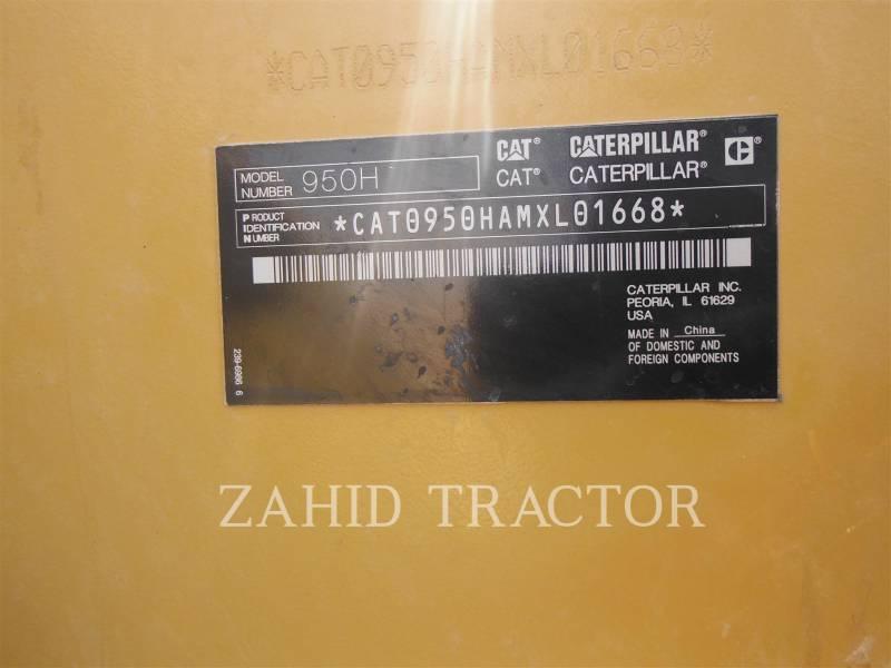 CATERPILLAR 鉱業用ホイール・ローダ 950H equipment  photo 6