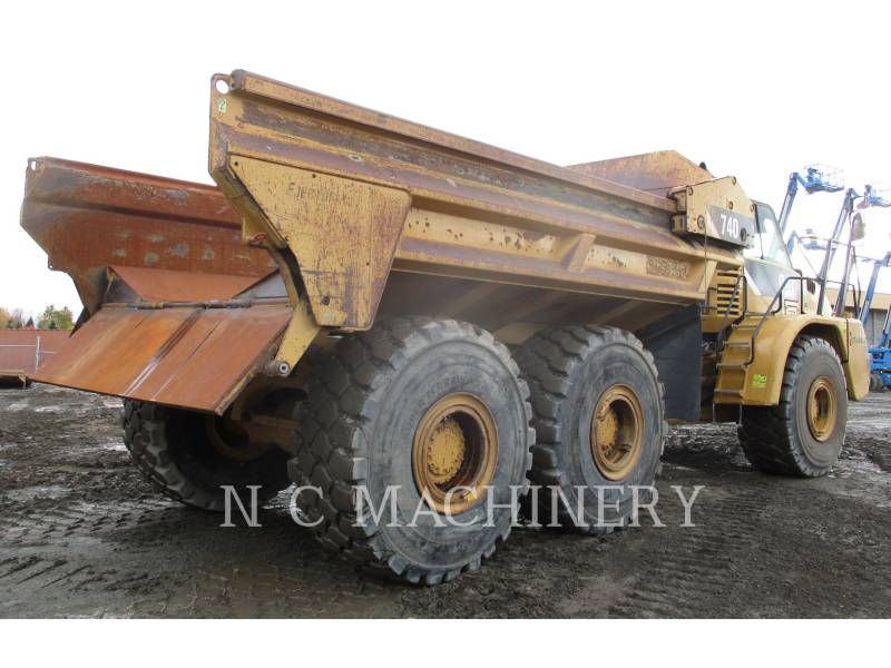 CATERPILLAR ARTICULATED TRUCKS 740 EJECT equipment  photo 4
