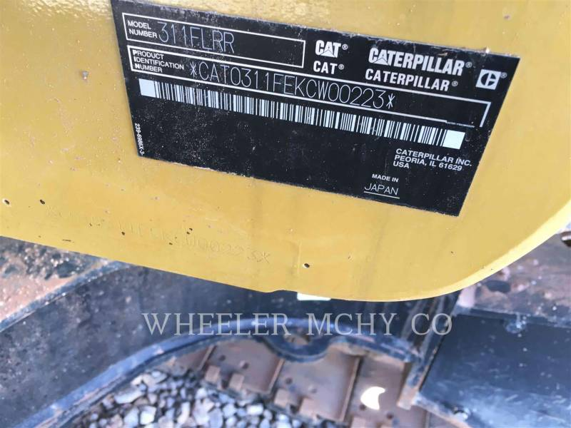 CATERPILLAR TRACK EXCAVATORS 311F RR TH equipment  photo 7