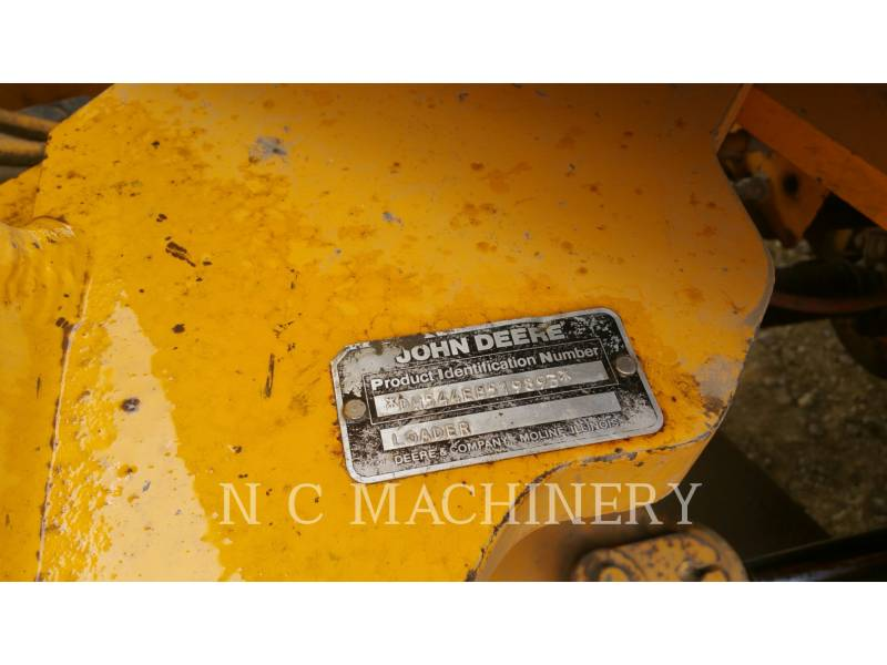 JOHN DEERE RADLADER/INDUSTRIE-RADLADER 544E equipment  photo 8