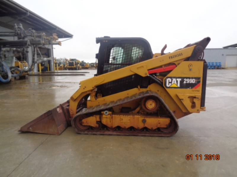CATERPILLAR MULTI TERRAIN LOADERS 299D2 equipment  photo 8