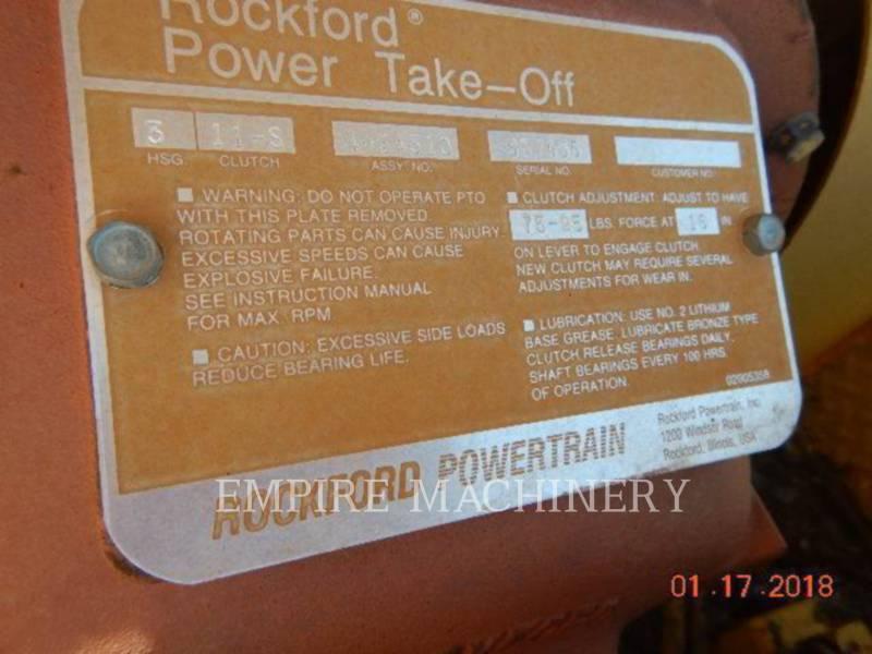 CATERPILLAR ELEVADORES DE CAMELLONES WE-851B equipment  photo 6