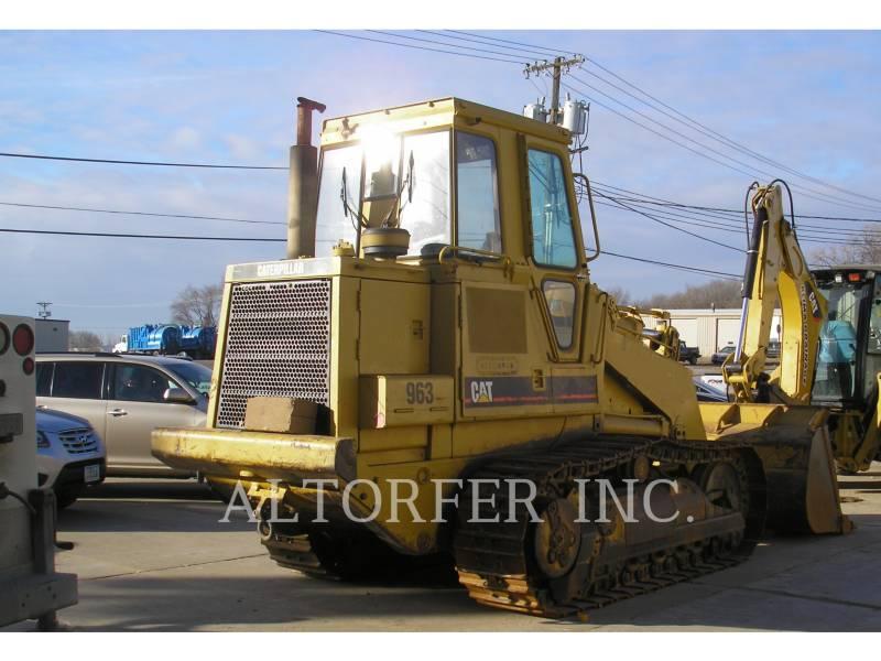 CATERPILLAR TRACK LOADERS 963LGP equipment  photo 3