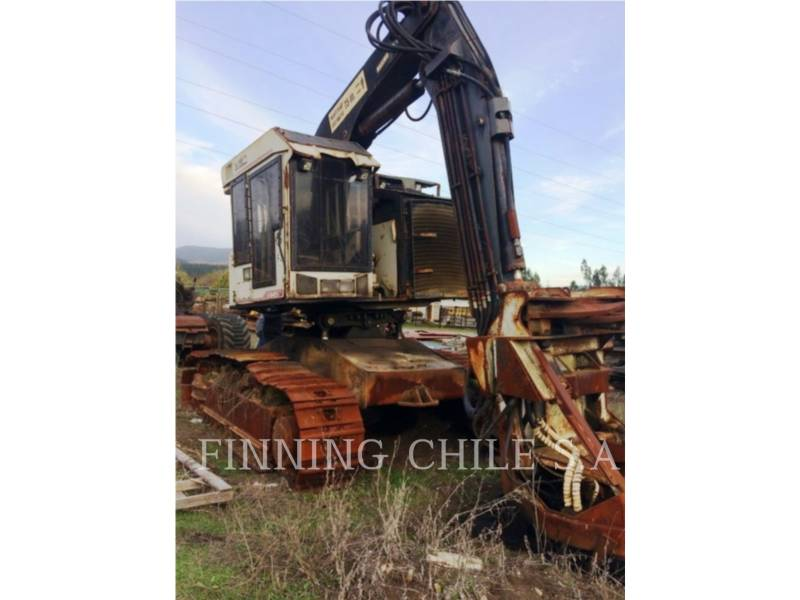 TIMBCO FORESTRY - FELLER BUNCHERS - TRACK T445D equipment  photo 1