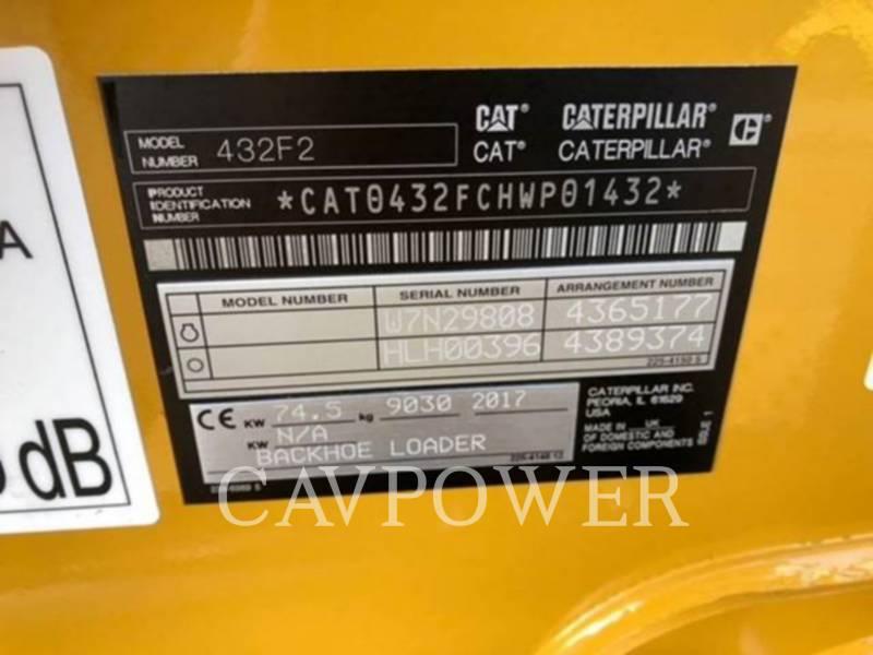 CATERPILLAR BACKHOE LOADERS 432F2 equipment  photo 3