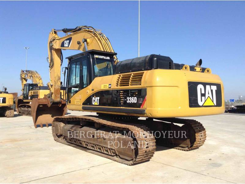 CATERPILLAR EXCAVADORAS DE CADENAS 336DLN equipment  photo 4