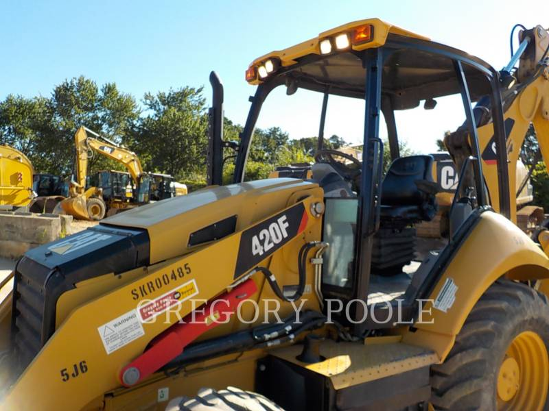 CATERPILLAR BACKHOE LOADERS 420F/HAM equipment  photo 2