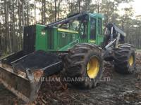 Equipment photo DEERE & CO. 848H SILVICULTURĂ – EXCAVATOR FORESTIER 1