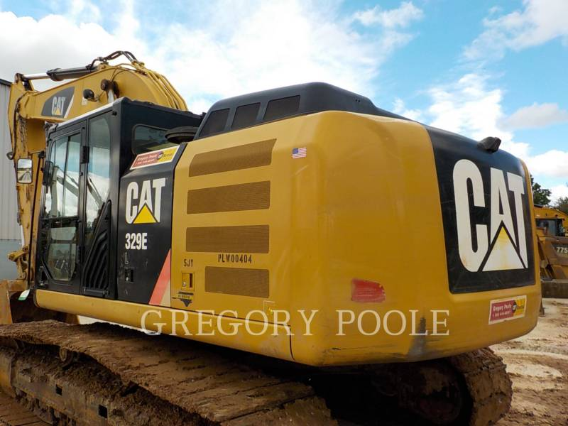 CATERPILLAR EXCAVADORAS DE CADENAS 329E L equipment  photo 8