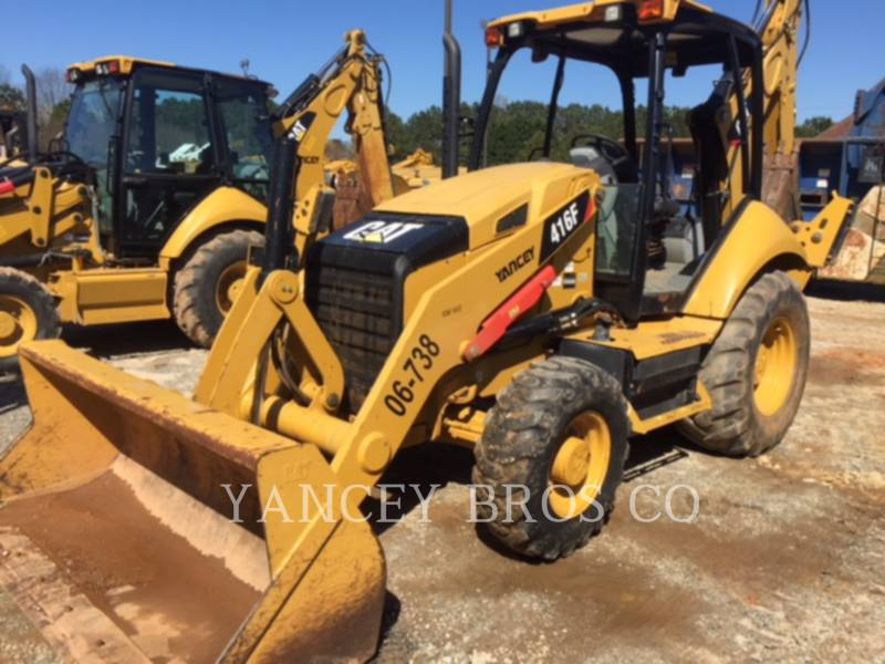 CATERPILLAR CHARGEUSES-PELLETEUSES 416F 4X4 equipment  photo 1