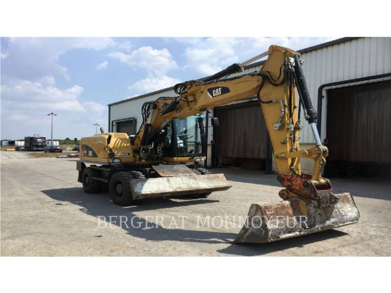 CATERPILLAR ESCAVATORI GOMMATI M316D equipment  photo 2