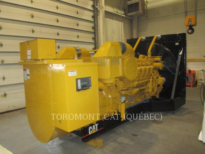 CATERPILLAR STATIONARY GENERATOR SETS 3512, 910KW 600VOLTS equipment  photo 2