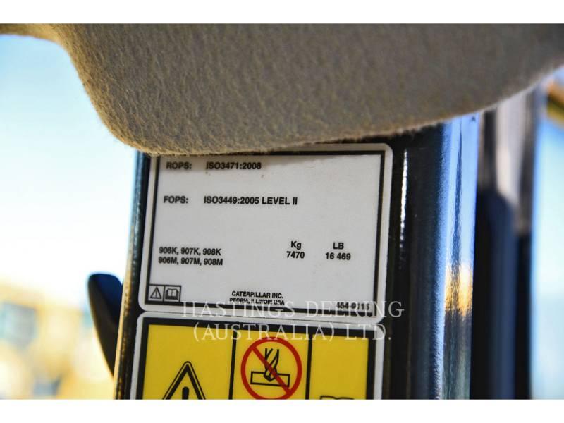 CATERPILLAR CHARGEURS SUR PNEUS/CHARGEURS INDUSTRIELS 906M equipment  photo 12