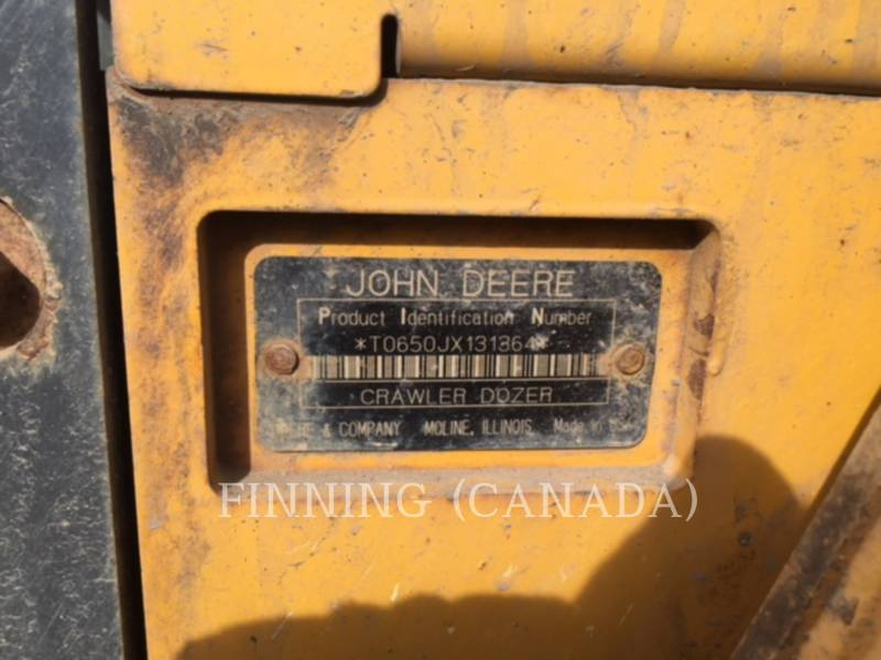 JOHN DEERE TRACK TYPE TRACTORS 650J equipment  photo 10
