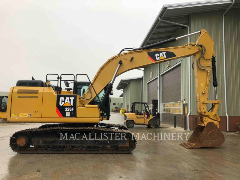 CATERPILLAR PELLES SUR CHAINES 326FL equipment  photo 6