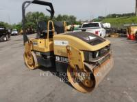 CATERPILLAR TAMBOR DOBLE VIBRATORIO ASFALTO CB-334D equipment  photo 2
