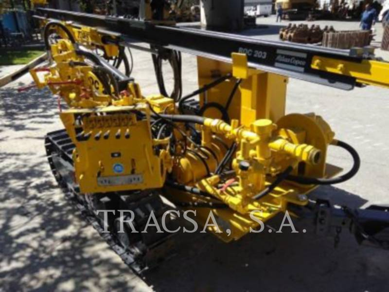 ATLAS-COPCO FOREZE HIDRAULICE PE ŞENILE ROC203 equipment  photo 3