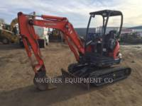 Equipment photo KUBOTA TRACTOR CORPORATION U25 ГУСЕНИЧНЫЙ ЭКСКАВАТОР 1