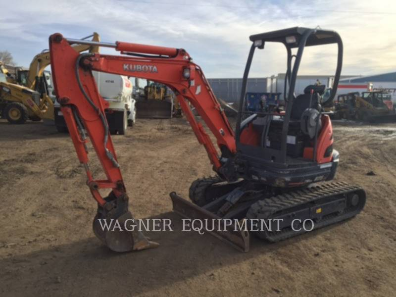 KUBOTA TRACTOR CORPORATION TRACK EXCAVATORS U25 equipment  photo 1