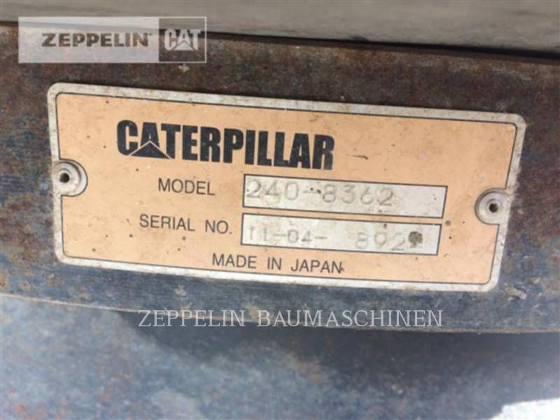 CATERPILLAR STROMERZEUGER (OBS) Unterwagen 308DCR equipment  photo 13