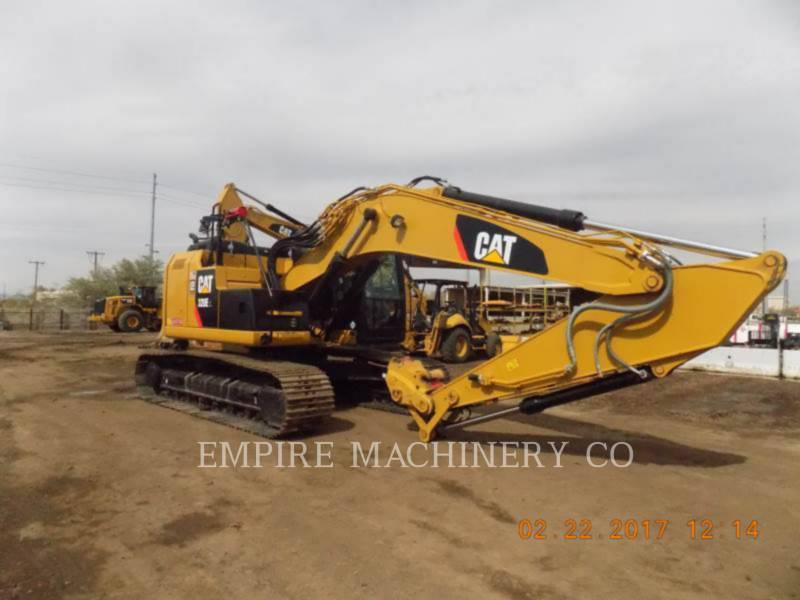 CATERPILLAR PELLES SUR CHAINES 320E LRR P equipment  photo 1
