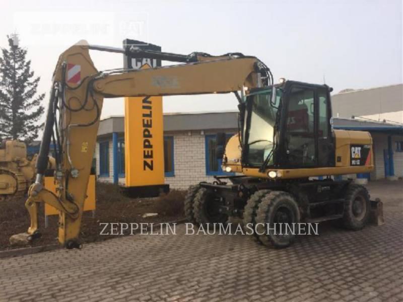 CATERPILLAR WHEEL EXCAVATORS M315D equipment  photo 1