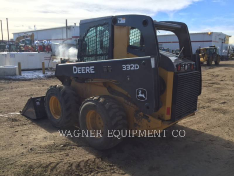 DEERE & CO. CHARGEURS COMPACTS RIGIDES 332D equipment  photo 4