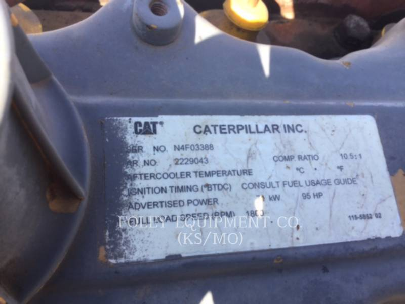 CATERPILLAR FIXE - GAZ NATUREL G3304NAIN equipment  photo 2