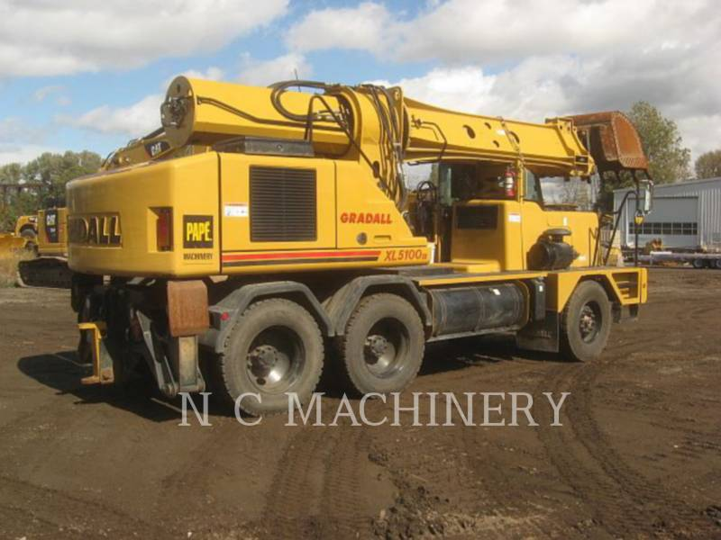 GRADALL COMPANY OVERIGE XL5100IV equipment  photo 3