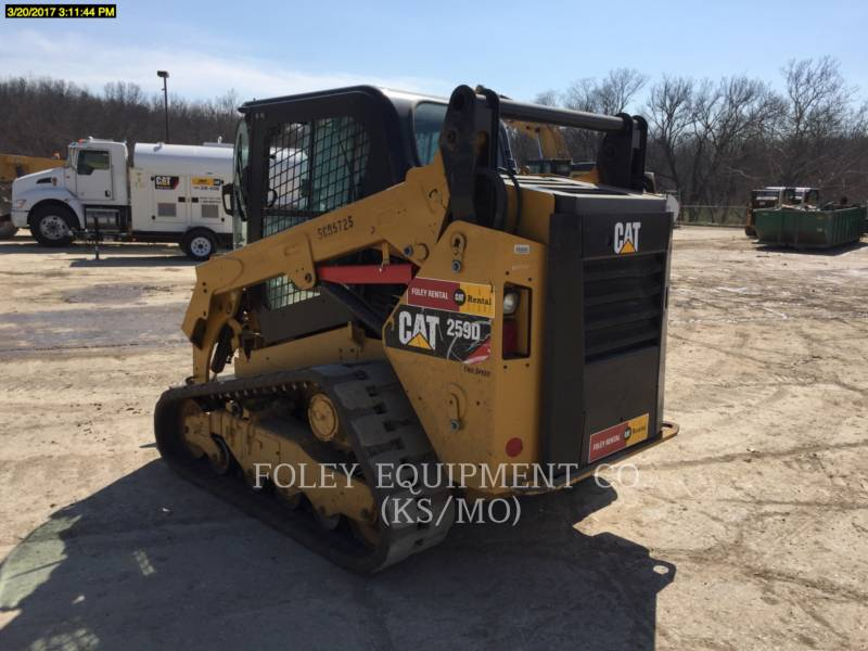 CATERPILLAR SKID STEER LOADERS 259DSTD2CA equipment  photo 3