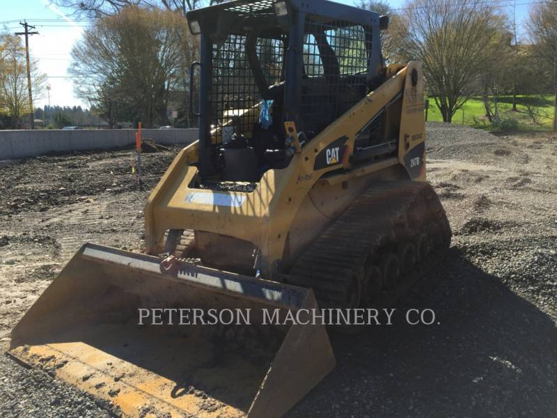 CATERPILLAR PALE CINGOLATE MULTI TERRAIN 247B3 HRC equipment  photo 1