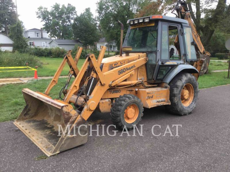 CASE BACKHOE LOADERS 580SL equipment  photo 2