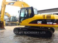 CATERPILLAR TRACK EXCAVATORS 320C equipment  photo 4