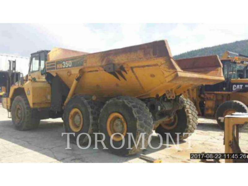 KOMATSU LTD. OFF HIGHWAY TRUCKS HM350 equipment  photo 2