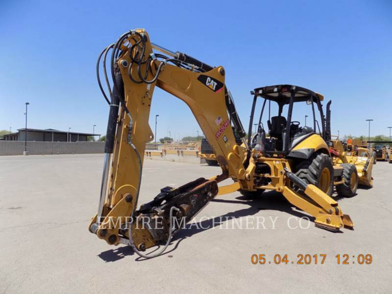 CATERPILLAR BAGGERLADER 450F 4EOMP equipment  photo 2