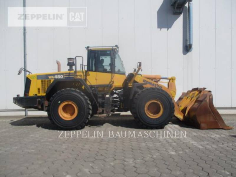 KOMATSU LTD. CARGADORES DE RUEDAS WA480LC-6 equipment  photo 6