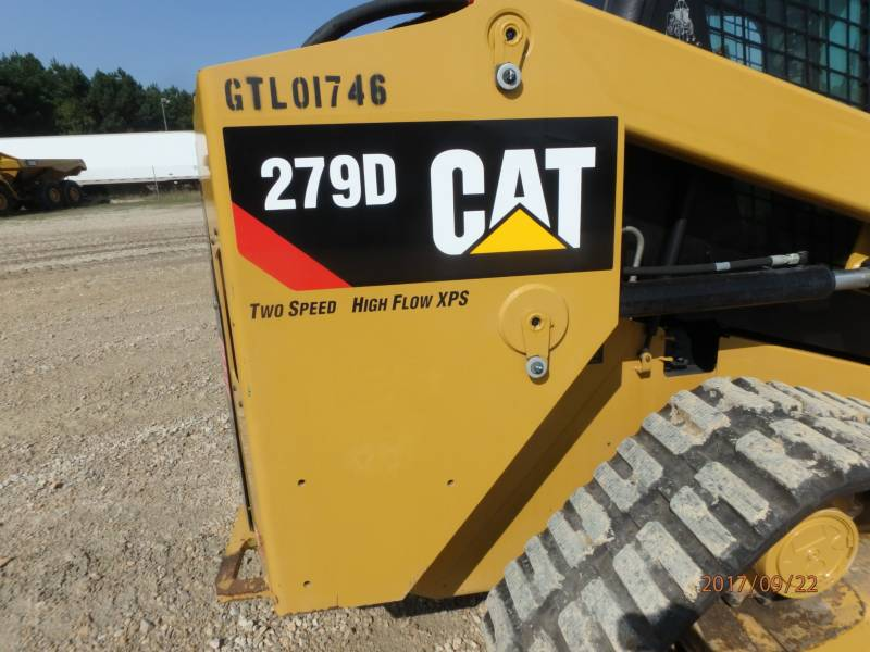 CATERPILLAR CHARGEURS TOUT TERRAIN 279D equipment  photo 22