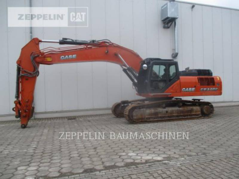 CASE TRACK EXCAVATORS CX370C equipment  photo 5