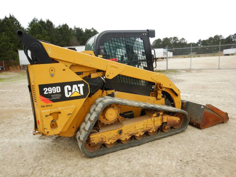 CATERPILLAR CHARGEURS TOUT TERRAIN 299 D XHP equipment  photo 1