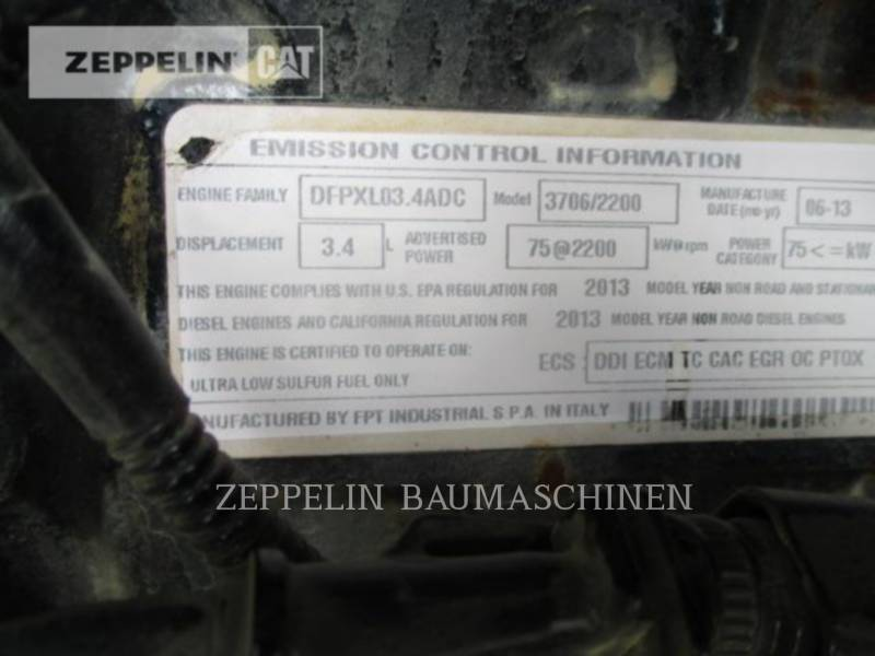 CATERPILLAR TELESKOPSTAPLER TH417C equipment  photo 23