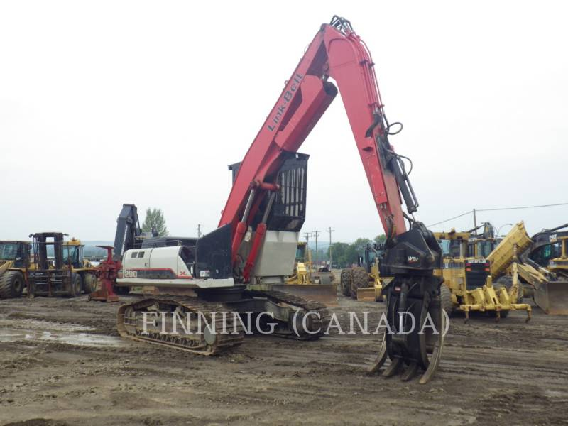 LINK-BELT CONSTRUCTION HOUTLADERS 290X2 equipment  photo 2