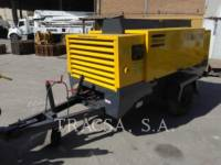 Equipment photo ATLAS-COPCO XAS750CD SPRĘŻARKA POWIETRZA 1