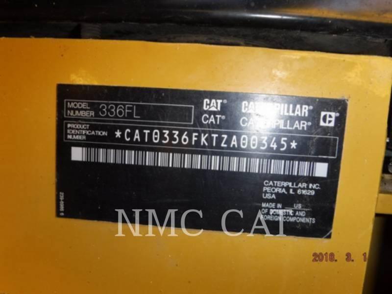 CATERPILLAR EXCAVADORAS DE CADENAS 336FL equipment  photo 5