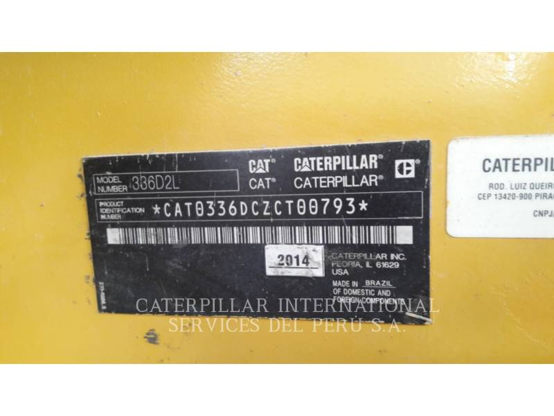 CATERPILLAR ESCAVADEIRAS 336D2L equipment  photo 5