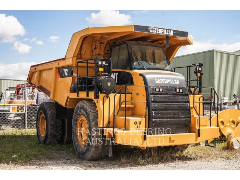 CATERPILLAR MINING OFF HIGHWAY TRUCK 772 equipment  photo 2