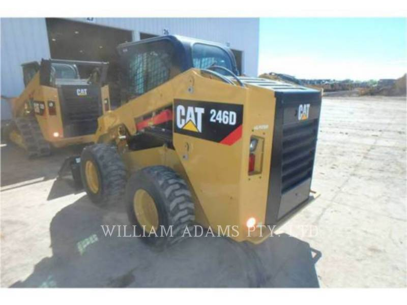 CATERPILLAR MINICARGADORAS 246 D equipment  photo 4